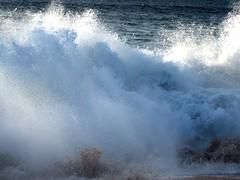 In the soup (thomasgorman1) Tags: wave whitewater crashing shorebreaker island molokai hawaii travel beach shore surf canon sea pacific ocean sand breaking papohaku