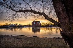 Under the Old Tree (Neil Cornwall) Tags: 2019 canada december ontario rivercanard fall sunrise