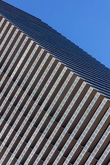 City Lines (Karen_Chappell) Tags: lasvegas travel architecture city urban building blue lines abstract balconies skyscraper nevada usa angle geometry geometric canonef24105mmf4lisusm glass steel tower