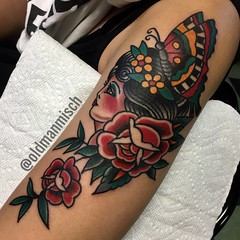 Tattoo by Mischa Matulich • Seven Seas Tattoo • San Diego • California