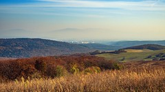 city view (Slávka K) Tags: sunny day winter nature country landscape view sky shadows trees forest meadows valley grass colors november