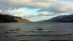 Loch Ness Viewpoint, Fort Augustus, Dec 2019 (allanmaciver) Tags: loch ness viewpoint fort augustus water ripples low view highlands caledonian canal
