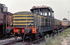FS E321 117 (maurizio messa) Tags: cinderella manovra shunter rangierlokomotive e321 mau bahn ferrovia milanosmistamento lombardia yashicafxd treni trains railway railroad