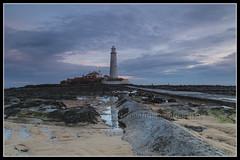 IMG_0004 St Marys Lighthouse (Scotchjohnnie) Tags: stmaryslighthouse lighthouse whitleybay tynewear northeastengland northsea shoreline sea seascapes landscape landmark coastline canon canoneos canon6d canonef24105mmf4lisusm scotchjohnnie reflection sky clouds