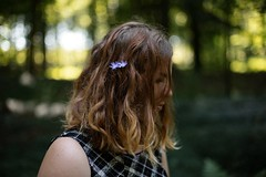 Gwenaëlle. (Nicolas Fourny photographie) Tags: canon 6d 50mm model beauty portrait portraiture womanportrait girlportrait nature summer bokeh dof depth depthoffield naturallight romanticism flowers trees