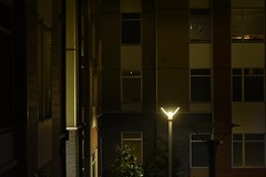 Apartment View (goldiamondcorp) Tags: photography photo photos photograph photographs apartment apartments residential residence view views urban courtyard architecture architectural cc0 city cities college university lights light scenery night nighttime time nights street