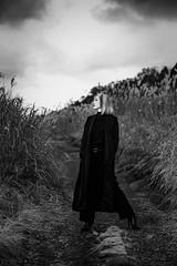 in Black (HarQ Photography) Tags: monochrome blackandwhite fujifilm fujifilmxseries xt3 xf56mmf12r model portrait conceptual happyplanet asiafavorites