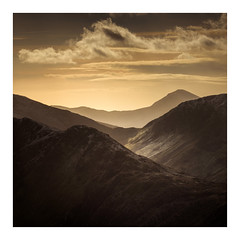 Snowdonia / January 17th (Edd Allen) Tags: mountain northwales wales clouds dinorwig landscape mountainscape atmosphere atmospheric sunrise nikond810 serene bucolic uk dinorwic quarry slate zeissdistagon18mm nikkor 70200mm