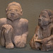 Mississippian Culture Couple, 1250-1350 A.D., Tennessee