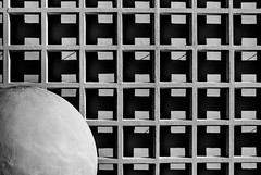 Geometric diversity (in concrete) (rainerralph) Tags: fe2870200gm shadow pattern architektur fassade schatten schwarzweiss facade sony concrete architecture a7r3 blackwhite