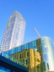 London city architecture & reflections