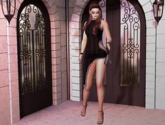 Going to town ... (lisana1) Tags: slink altamura belleza dress fitmesh heels luxeparisfashionhouse maitreya stealthichair tmp