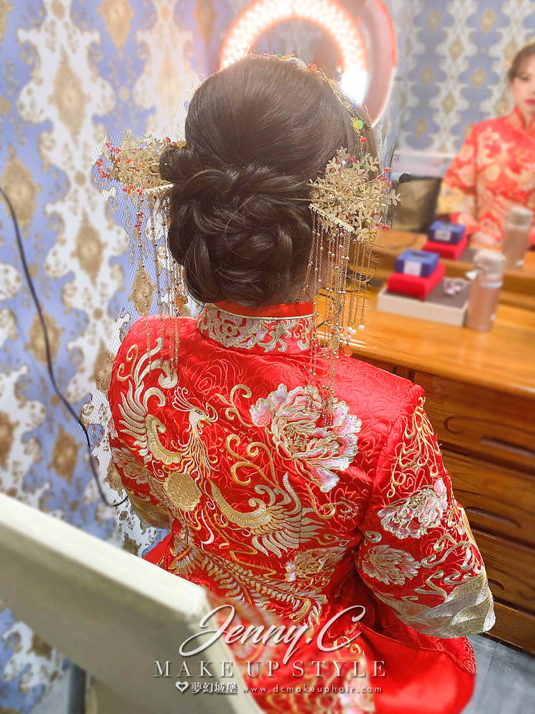 【新秘蓁妮】bride 筱暄 結婚造型 / 韓系公主風
