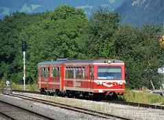 Jenbach 25.08.2008 (The STB) Tags: austria austrianrailways austriantrains österreich eisenbahnenvonösterreich bahn zug eisenbahn train railway narrowgauge schmalspurbahn