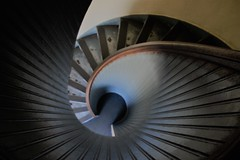Spiral (Rand Luv'n Life) Tags: odc our daily challenge spiral staircase cabriiio lighthouse point loma san diego california repetitive indoor steps