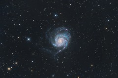 Messier 101 - Pinwheel Galaxy. New version (alxtrnk) Tags: astrophotography astronomy