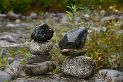 In balance (johan van moorhem) Tags: usa america amerika northwestamerica noordwestamerika washingtonstate leavenworth cascaderange icyclecanyon inbalance stones river rivier nature natuur