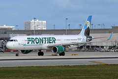 A321.N709FR (Airliners) Tags: frontier frontierairlines 321 a321 a321211 airbus airbus321 airbusa321 airbusa321211 eagle stevetheeagle fll n709fr 122519