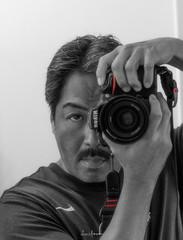 2015 Self Portrait (JUNEAU BISCUITS) Tags: portrait portraiture blackandwhitephotography blackandwhite hawaii hawaiiphotographer nikon nikond810