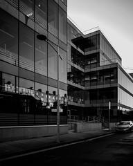 Linkedin; Lad lane facade (Wendy:) Tags: dublin linkedin ladlane facade glass mono