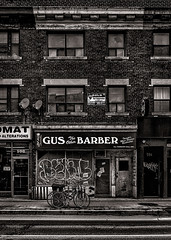 Gus The Other Barber (thelearningcurvedotca) Tags: briancarson canada canadian ontario thelearningcurvephotography toronto abandoned architecture background barber barbershop blackandwhite bnw brick building business city classic design door entrance exterior facade foto grooming historical lifestyle monochrome old outdoors perspective photo photograph photography property retro salon service shop shopfront sign store storefront street structure urban vintage window absolutearchitecture awardflickrbest bwartaward bwmaniacv2 bej blackwhite blackwhitephotos blackandwhiteonly blogtophoto bwemotions cans2s discoveryphotos iamcanadian linescurves noiretblanc torontoist true2bw theworldofarchitecture yourphototips