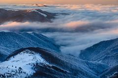 Balkan mountain (Ivaylo Madzharov) Tags: balkan mountain bulgaria landscape nature winter cold sunset forest snow