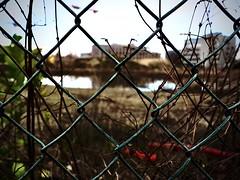 Ghent behind fences (delnaet) Tags: ghent gand gent belgium urban fence