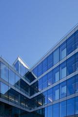 Linkedin Dublin (Wendy:) Tags: dublin linkedin blue offices glass windows