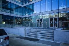Linkedin-Lad lane entrance HSfS (Wendy:) Tags: dublin steps linkedin windows glass hsfs