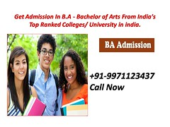 Distance BA - Course, Career, Eligibility, Scope, Fees, Admission 2020-21.9971123437 (baadmissions71) Tags: ba distance education
