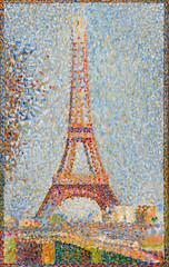 Eiffel Tower (lluisribesmateu1969) Tags: seurat legionofhonor sanfrancisco 19thcentury