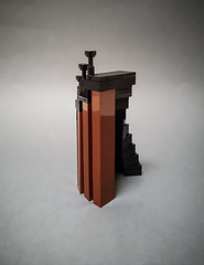 Staircase III (Maritime Museum MOC) (betweenbrickwalls) Tags: lego afol moc toys design stairs legophotography