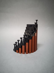 Staircase II (Maritime Museum MOC) (betweenbrickwalls) Tags: lego afol moc staircase design interiordesign