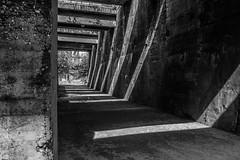 Concrete in grey I (Robin Kelderman) Tags: concrete grey blackandwhite duisburg germany landschaftspark sun ruhrgebiet ruhrpott
