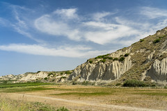 Rural landscape near Policoro, Basilicata (clodio61) Tags: basilicata europe italy july matera policoro rotondella southern agriculture calanques color country day field green hill land landscape nature outdoor photography plant road rural scenic summer sunny town tree