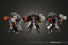 Lego Warhammer 40k Terminator Lord (Faber Mandragore) Tags: lego moc scifi mecha powersuit warhammer40000 warhammer40k wh40k spacemarine terminator lord forgeworld faber mandragore fabermandragore