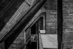 Concrete in grey II (Robin Kelderman) Tags: concrete grey blackandwhite duisburg germany landschaftspark sun ruhrgebiet ruhrpott