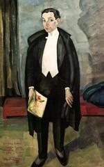 O Arquitecto José Pacheco (1925) - Mário Eloy (1900 (pedrosimoes7) Tags: márioeloy portrait portraitworld portraiture retrato ritratto caloustegulbenkianfoundation moderncollection caloustegulbenkianmuseum lisbon portugal