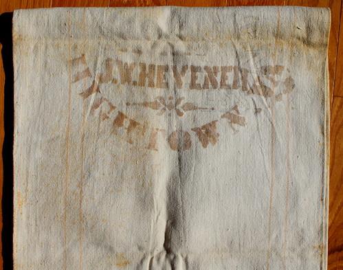 J.W. Hevener Mill Flour Sack ($728.00)