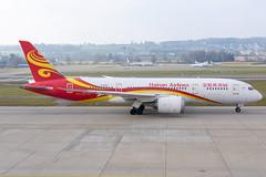 Hainan Airlines Boeing 787-800 Dreamliner; B-2730@ZRH;12.01.2020 (Aero Icarus) Tags: zrh zürichkloten zürichflughafen zurichairport lszh plane avion aircraft flugzeug hainanairlines boeing787800 dreamliner b2730