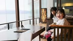 SAKURAKO and SAKIKO - Toya Sun Palace Resort & Spa. (MIKI Yoshihito. (#mikiyoshihito)) Tags: toyasunpalaceresortspa 洞爺湖 toya toyalake サンパレス 洞爺湖温泉 japan hokkaido onsen 温泉 北海道 sakiko 咲子 さきこ サキコ daughter 次女 4歳 laketoya lake sakurako 櫻子 さくらこ 娘 サクラコ 長女 11歳3ヶ月