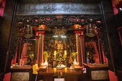 (kuuan) Tags: vietnam taoist taoism chùangọchoàng tokina mf manualfocus 17mm tokinaf3517mm tokinarmc street red architecture pagoda colorful sony saigon a7 hcmc sonya7 tokinarmcf3517mm ilce7 hochiminhcity jadeemperorpagoda