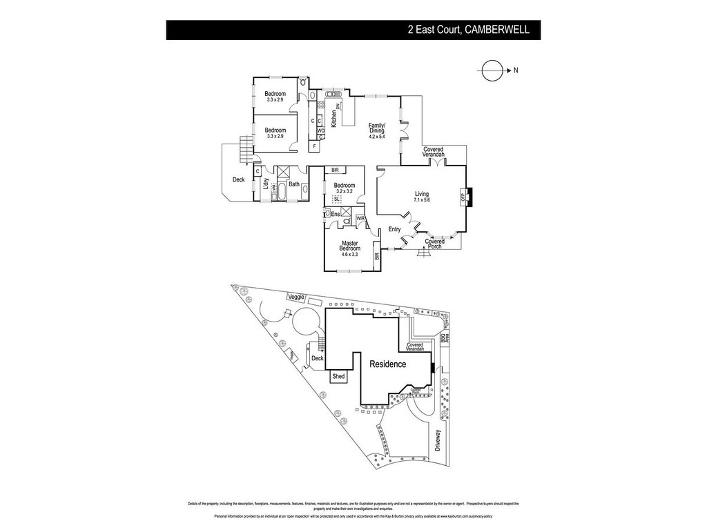 2 East Court, Camberwell VIC 3124 floorplan