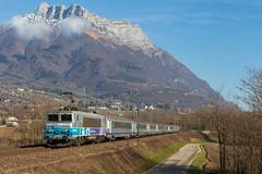883264 Bourg Saint Maurice - Lyon (Maxime Espinoza) Tags: bb 22200 22396 en voyage ter 883264 bourg saint maurice lyon st jean de la porte aura auvergne rhone alpes savoie rcr corail