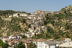 Tursi, old village in Basilicata (clodio61) Tags: basilicata europe italy matera southern tursi ancient architecture building city cityscape color day exterior hill historic house landscape medieval mountain nature old outdoor photography plant summer town urban village