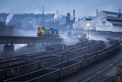 Steel City (WillJordanPhoto) Tags: union railroad mp15 steel mill us clairton trains night