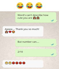 Words cant describe how cute you are (gagbee18) Tags: aww chat cute funny funnymemes memes texts whatsapp wtf