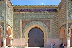 Bab Mansour el-Eulj (philippedaniele) Tags: maroc enceinte porte muraille bab meknes médina el mansour euij placeelhédime»bab