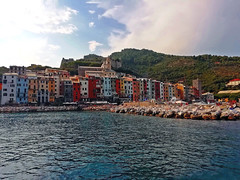 PORTOVENERE - Liguria (cannuccia) Tags: paesaggi landscape portovenere liguria architettura mare colori acqua cieli friendlychallenges