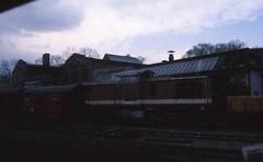Narrow Gauge Diesel Locomotive (Ray's Photo Collection) Tags: germany locomotive diesel 1992 deutschland eastern dr ng narrowgauge